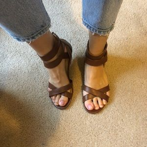 NWOT Cityclassified vegan leather sandals